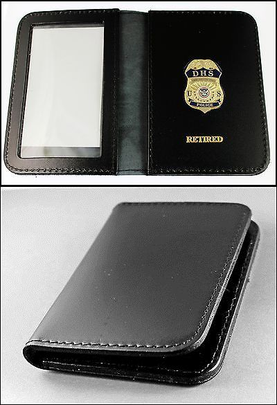 Wallets 169283: Federal Protective Service Police Mini Badge Id Case W Retired Embossing -> BUY IT NOW ONLY: $31.99 on eBay!