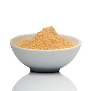 Mesquite Powder, also known as mesquite flour or mesquite meal, has a molasses-like flavor with a hint of caramel. High in protein and soluble fiber, it is an excellent (partial) flour replacement in baked goods. Tastes great in teas, coffees, and smoothies, yogurt, energy bars, and fruit/nut butter spreads.