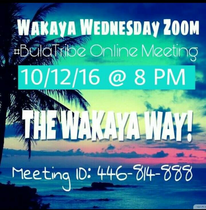 Tonight we are going LIVE with the Wakaya Opportunity! If you are interested in making a residual income, organic living, or having more time freedom to spend with your loved ones,    tune in tonight at 8 PM!  💥Download Zoom App 💥Enter Meeting ID  See YOU tonight!!! 😘