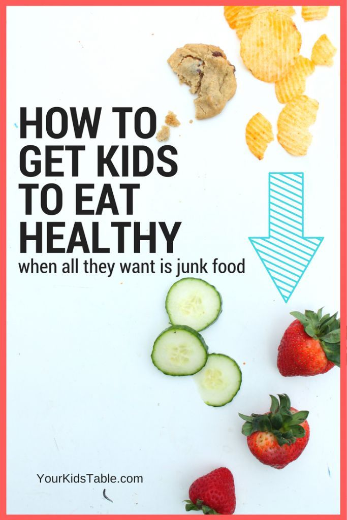 Help, my child won't eat anything but junk food! Learn how to get kids to eat healthy with 8 little known tips and tricks while keeping your sanity...