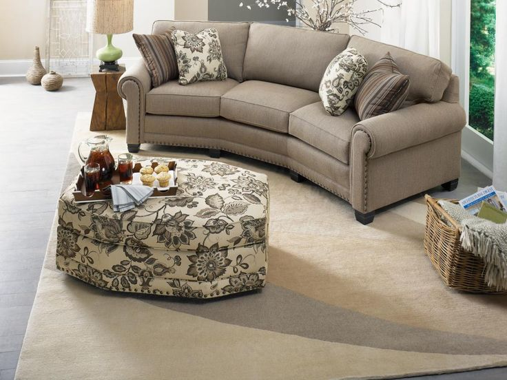 The Smith Brother S 393 Conversation Sofa Is Configured Perfectly For Three People To Comfortably Sit And