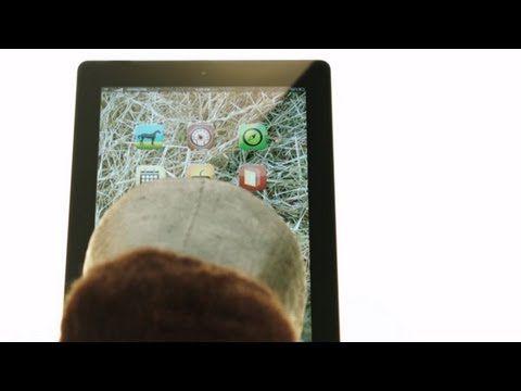 Un iPad pour les chevaux