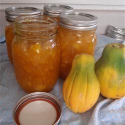 Mermelada de papaya fresca