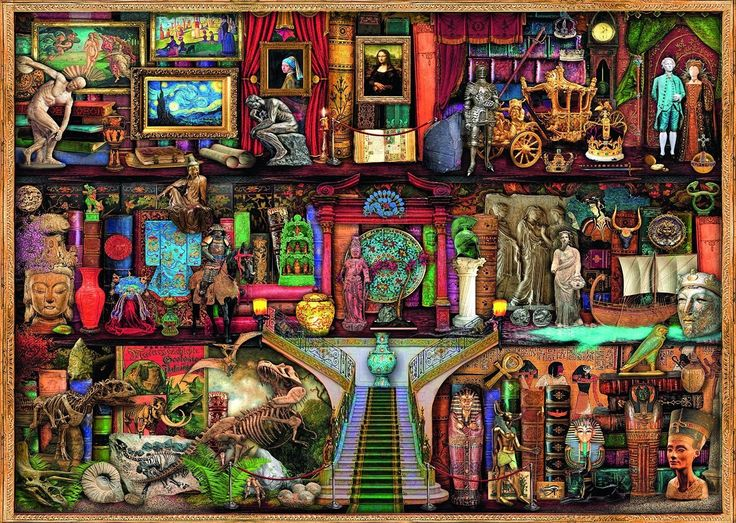 Buy Ravensburger - Museum of Wonder Puzzle 1000pc