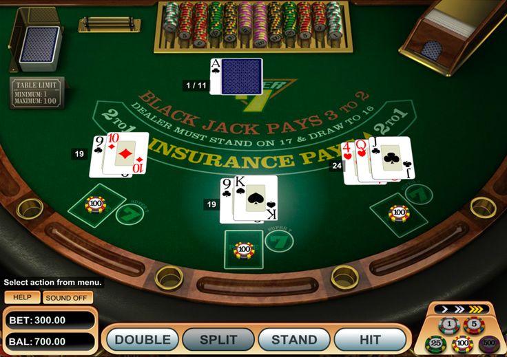 Le jeu au blackjack à trois mains est possible dans la version de BetSoft qui s'appelle Super 7 Blackjack. Sauf la partie ordinaire, le fournisseur propose d'apprécier le jeu de bonus qui donne la chance de gagner jusqu'à 5000 euros. Ramassez 21 points pour avoir un blackjack et le prix ne vous fera pas attendre!