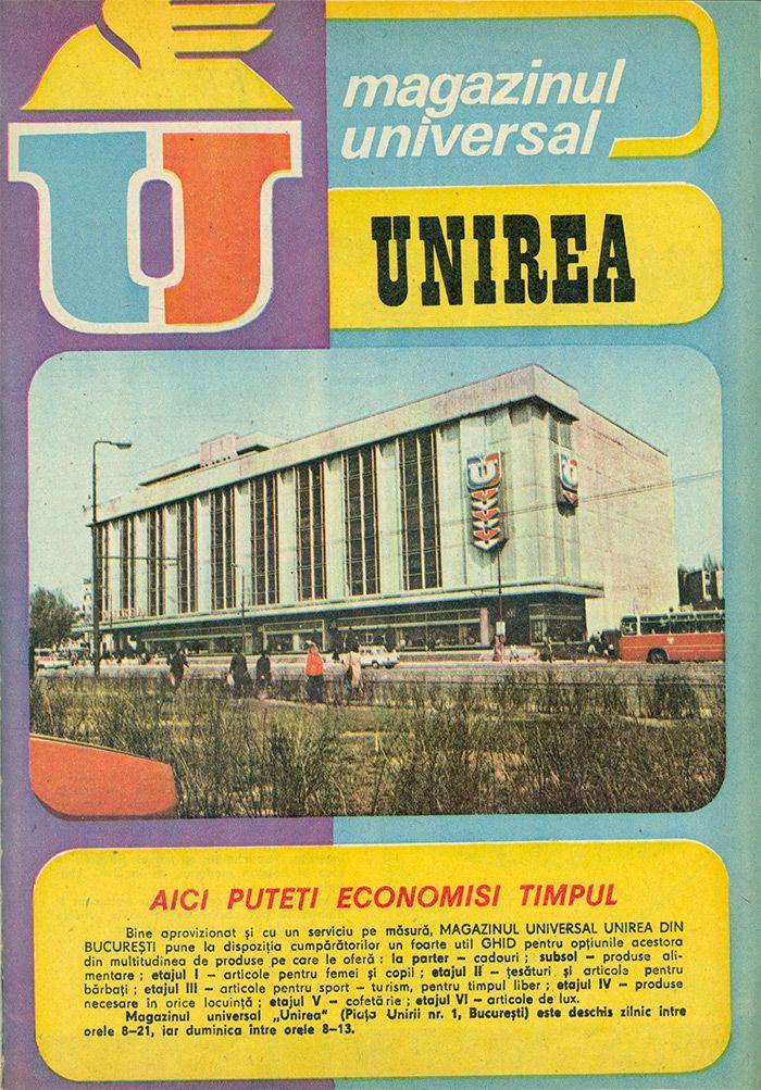 Reclama Magazin Universal Unirea - #retro #advertising #romania