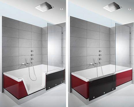 20 best images about kleine badezimmer mit badewanne on. Black Bedroom Furniture Sets. Home Design Ideas