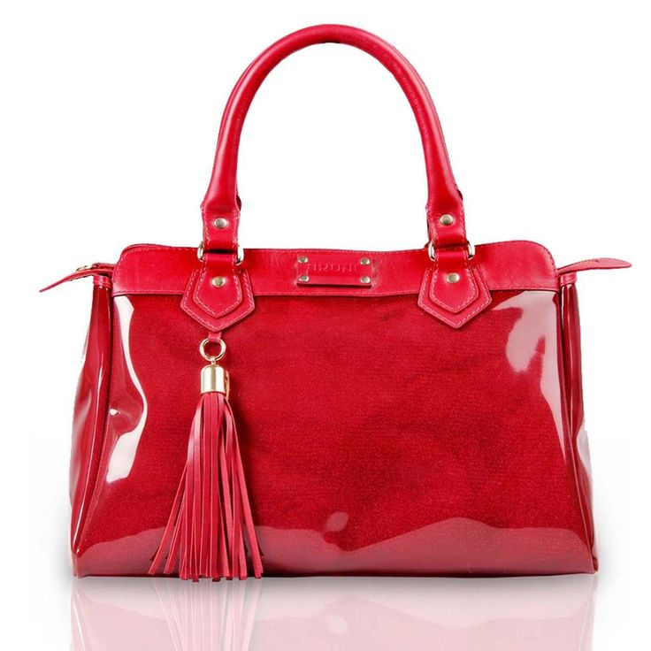 Buy #red colored ladies satchel #bag online for Rs.5,000/- at voganow.com