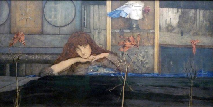 Khnopff, I Lock the Door Upon Myself (essay)   Symbolism & Art Nouveau   Art in 19th century Europe   Art in 19th century Europe   Khan Academy
