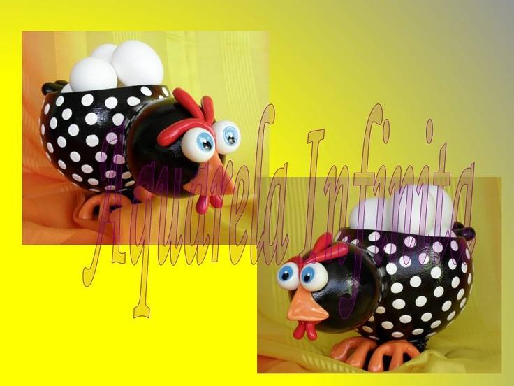 AQUARELA INFINITA - Gourd Art (Arte em Cabaça) aquarela-infinita@hotmail.com    Assim eu não aguento!  São fofas demais!