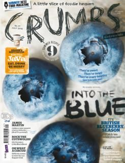 Crumbs (UK) magazine. Editor Laura Rowe. Designer Trevor Gilham (via Cover Junkie).