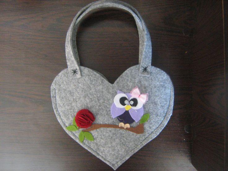 kızımın baykuşlu çantası