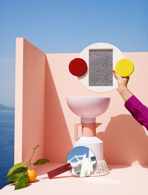 Metz & Racine - Editorial Casa Da Abitare. Summer Splash.