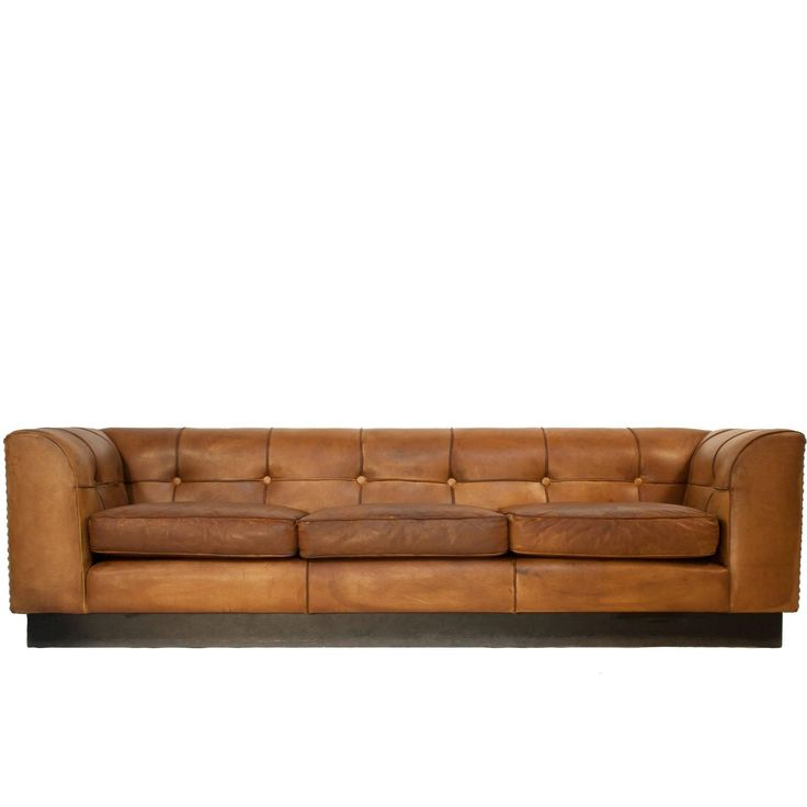 Leather Sofa by Arne Norell | From a unique collection of antique and modern sofas at https://www.1stdibs.com/furniture/seating/sofas/