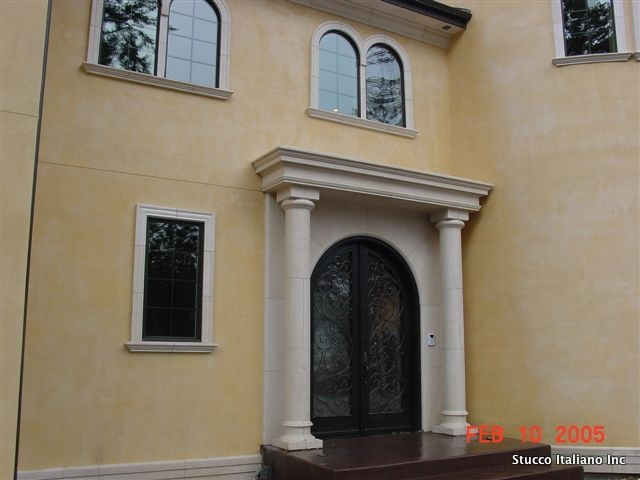 Stucco Italiano Lime Plaster Can Be Applied On The Exterior As Well. This Is  A