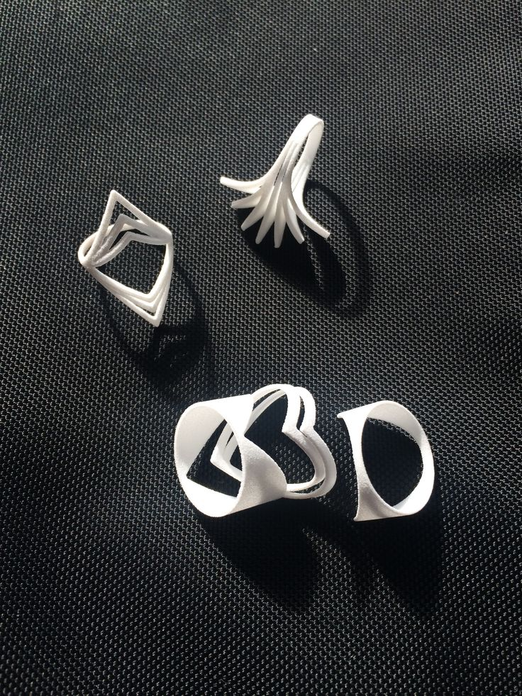 3d printed ring prototypes