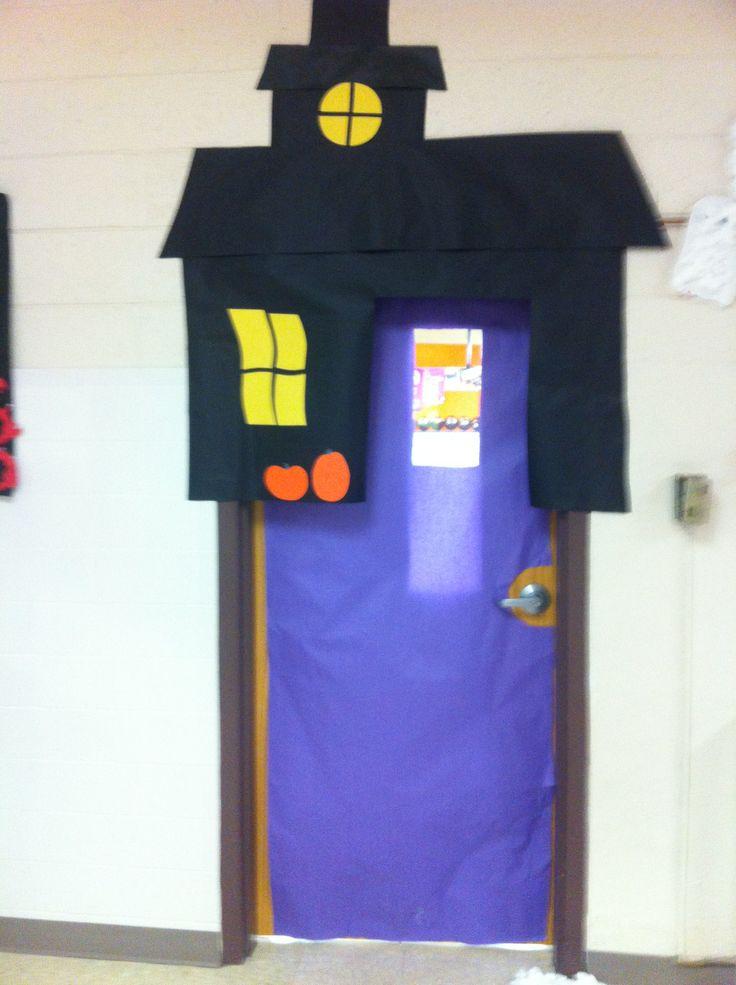 October Classroom Door
