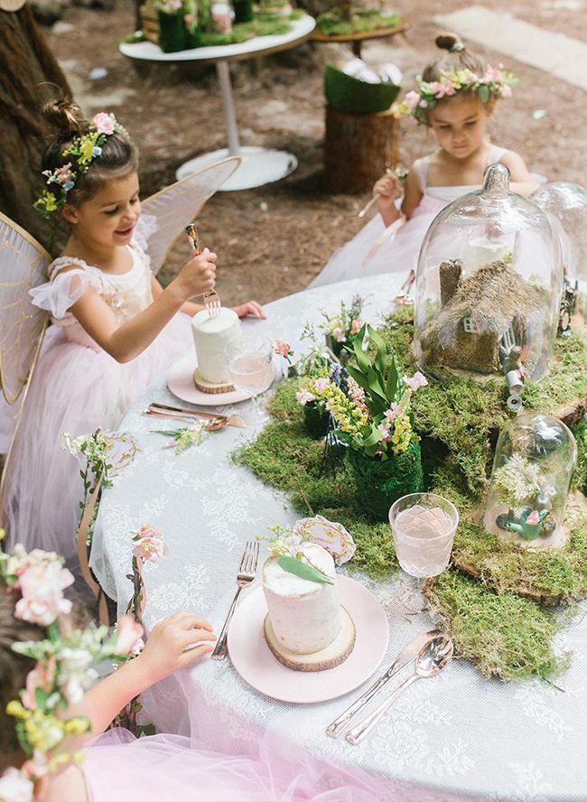 Woodland Fairy Birthday Party