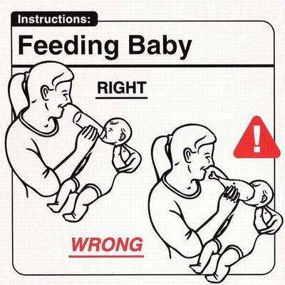 This isn't the Flintstones. Don't stick a drumstick in baby's mouth.