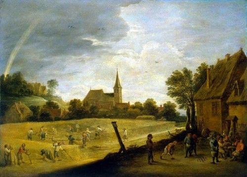 Давид Тенирс Младший. Жатва (Лето), Эрмитаж Год: 1644
