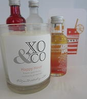 XO and Co. Soy candles and wedding bonboniere |  Happy Hour