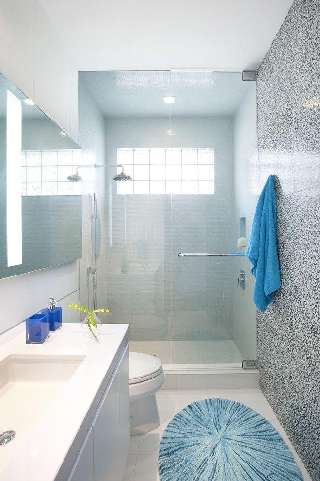 Современные маленькие ванные комнаты дизайн - 50 фото идей