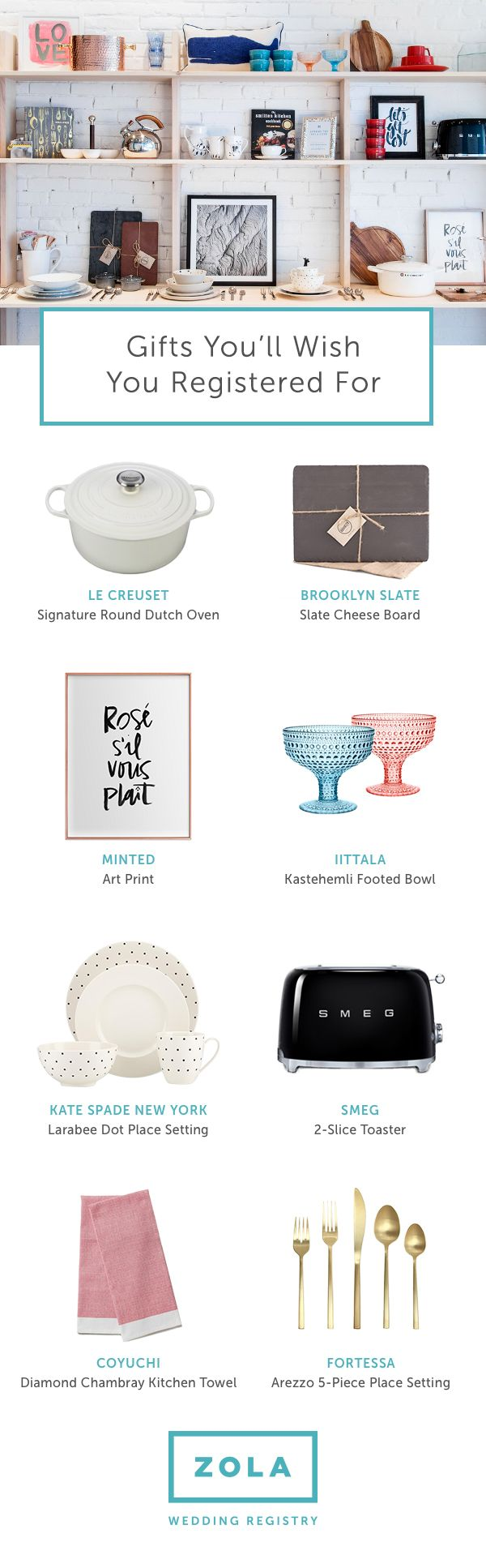 12 best zola wedding registry 02232017 5 images on pinterest dont miss out on these wedding registry gifts curated for our zola townhouse malvernweather Gallery