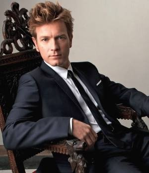 Ewan McGregor. He's married. I'm not going to lie, I nearly cried when I found out. NOOOOOOO!!!!!!