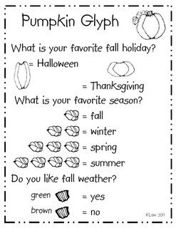 pumpkin glyph - Halloween Glyphs