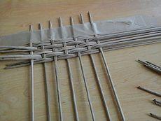 Как закрепить трубочки. Фото