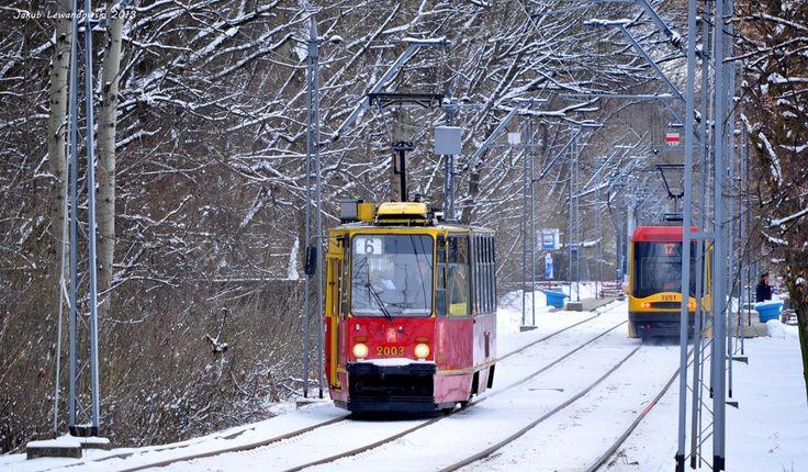 Trams, Warsaw
