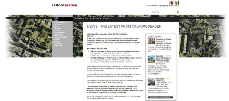 callfordseaden awarded Silver IIP Accreditation