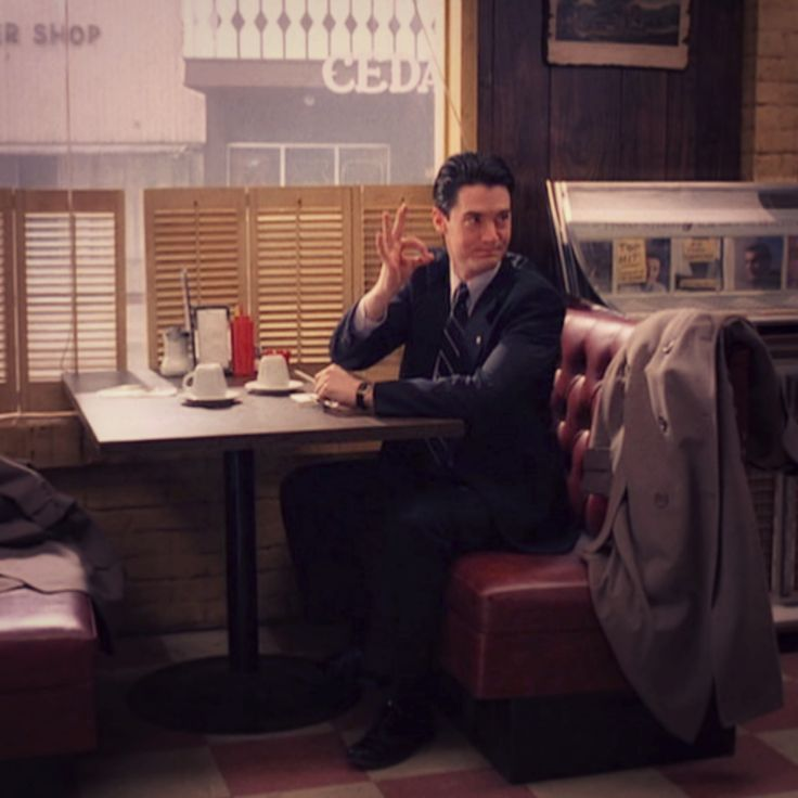 Special Agent Dale Cooper ,Twin Peaks.