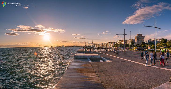 Μαγεύει όλο τον κόσμο η νέα παραλία Θεσσαλονίκης. Οι 12 διεθνείς διακρίσεις!