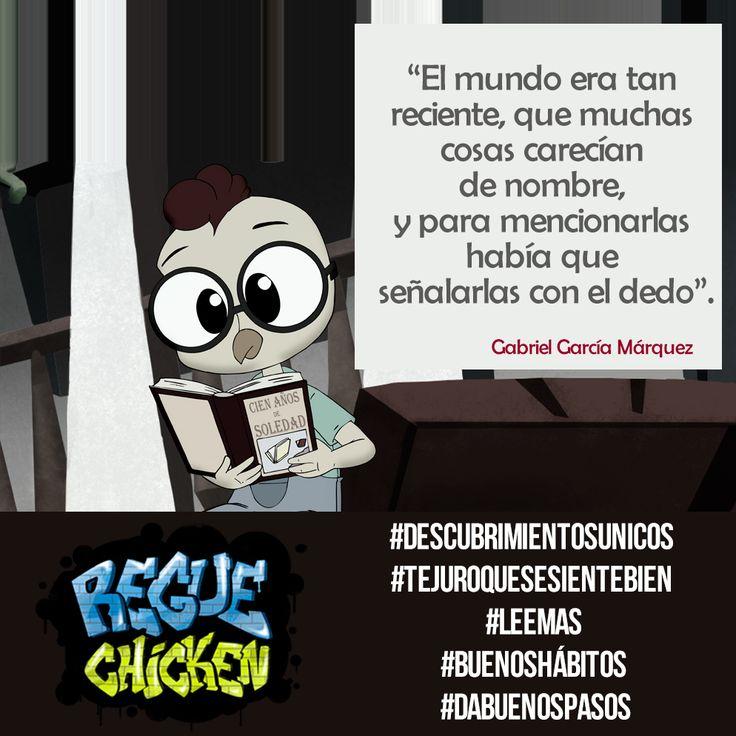 #RegueChicken #Lectura #LeeMás #BuenosHábitos