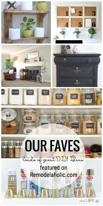Friday Favorites: Best Gold Spray Paint and Distressed Black Furniture