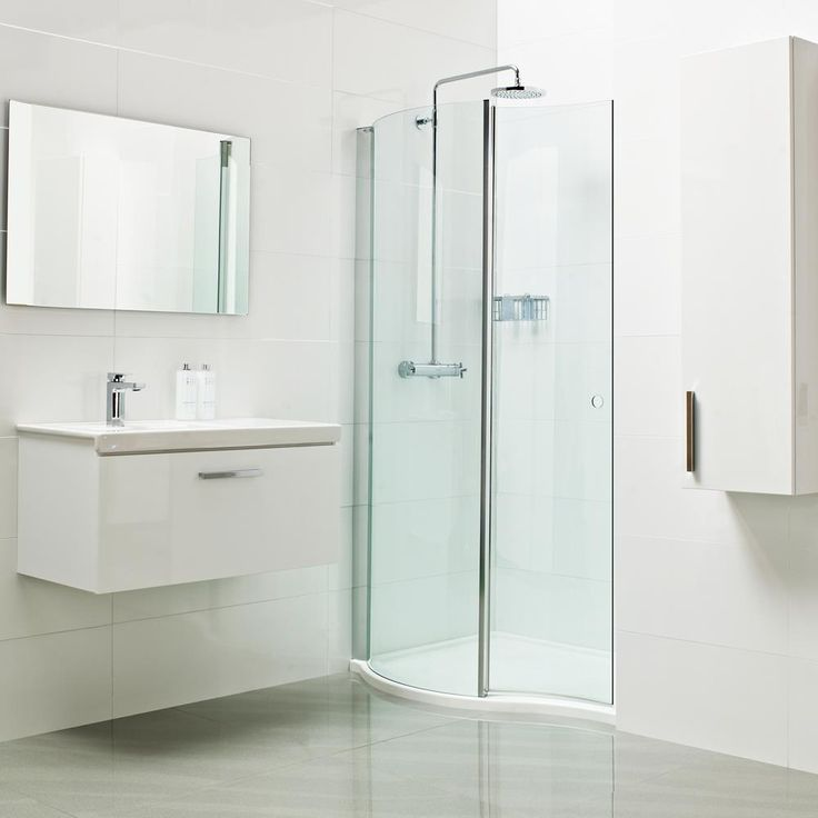 Best Inward Opening Shower Door Enclosures Images On Pinterest - Modern bathrooms roman showers