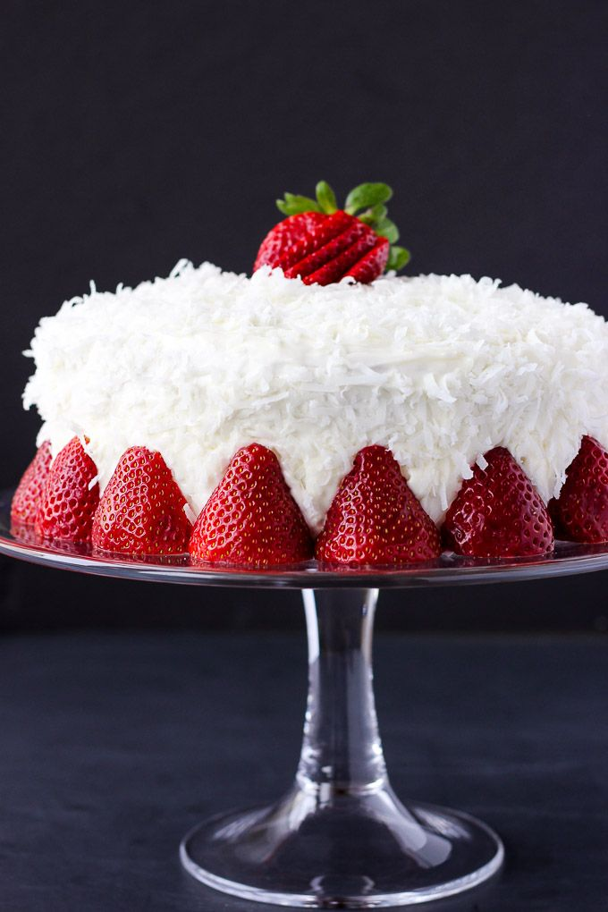 25+ best ideas about Strawberry coconut cakes on Pinterest ...