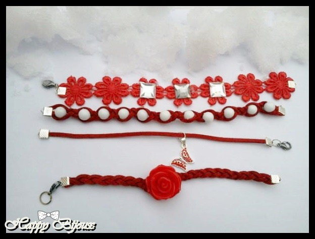 # rock and roses collection # www.facebook.com/happy.bijoux