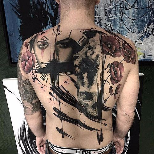 Cool Abstract Tattoo