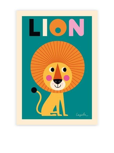 Lion Poster (50x70cm)Lion Poster (50x70cm) | Human Empire Shop