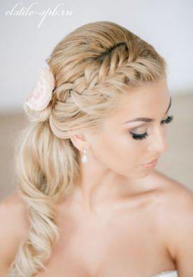 Bridesmaid Hair Side Ponytail | Hair Color Ideas and Styles for 2018
