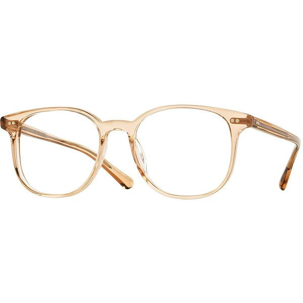 Oliver Peoples Scheyer Square Optical Frames featuring polyvore, women's fashion, accessories, eyewear, eyeglasses, glasses, amber, lens glasses, square glasses, acetate glasses, square eyeglasses and oliver peoples glasses