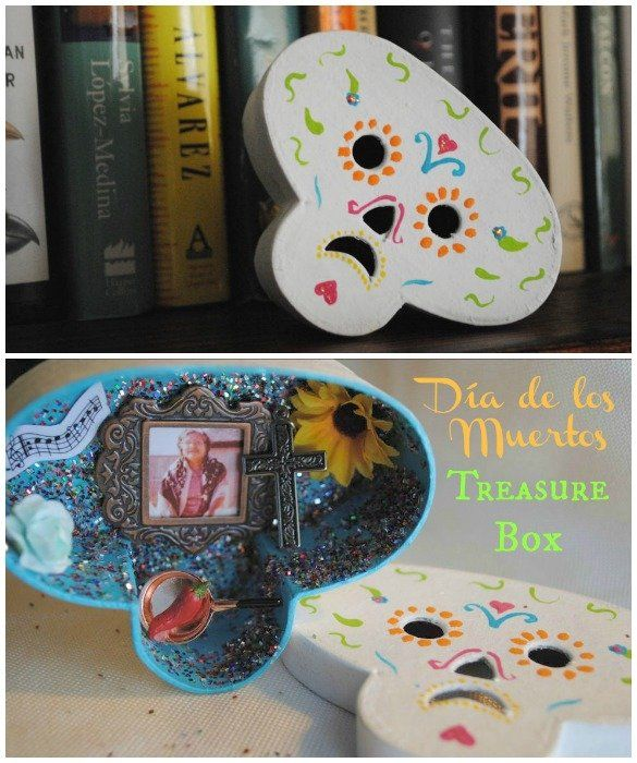 Make a Cherished Heirloom: A Day of the Dead Treasure Box/Miniature Ofrenda