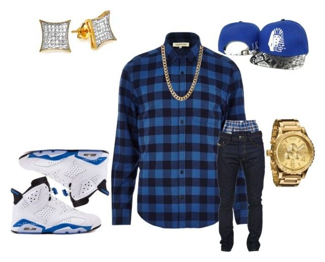 """Untitled #15"" by crenshaw-m4fia ❤ liked on Polyvore featuring River Island, Old Navy, Diesel and Nixon"