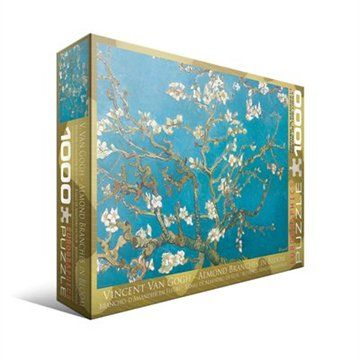 Van Gogh; Almond Branches in Bloom 1000 pieces *COMPLETED*