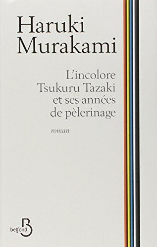 L'Incolore Tsukuru Tazaki et ses années de pèlerinage de Haruki Murakami https://www.amazon.fr/dp/2714456871/ref=cm_sw_r_pi_dp_9IKcxb92NEPXX