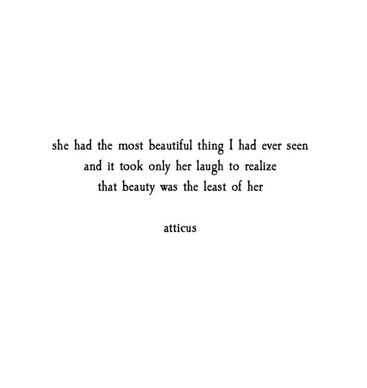 'The Most of Her' @atticuspoetry #atticuspoetry