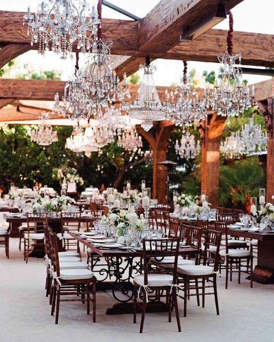 Alternative Table Arrangements for Your Wedding - Wooden Farmhouse Tables