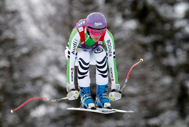 [Germany's Maria Hoefl-Riesch is airborne on her way to win an alpine ski World Cup women's downhill - http://joronomo.com/germanys-maria-hoefl-riesch-is-airborne-on-her-way-to-win-an-alpine-ski-world-cup-womens-downhill/ - #CelebrityNews, #Comedians, #Comedy, #Funny, #FunnyNews, #Germany, #Images, #Italy, #Jokes, #Skiing